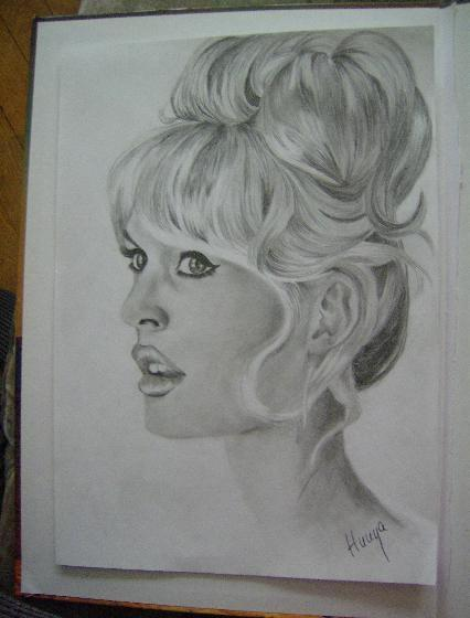 Brigitte Bardot by Hunya